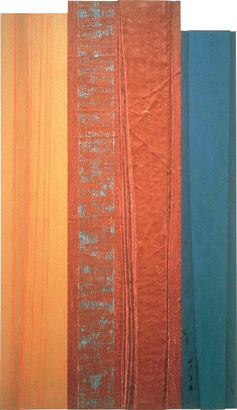 Light Idioms: Ochre, Prune, Blue, 1989–90 Art Gallery of Hamilton