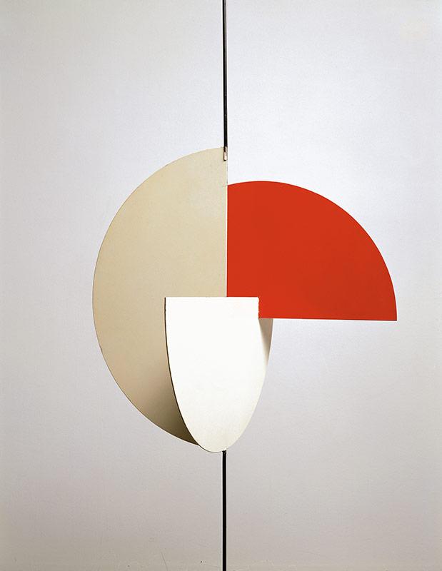 Archétype, trios demi-cercles, 1958