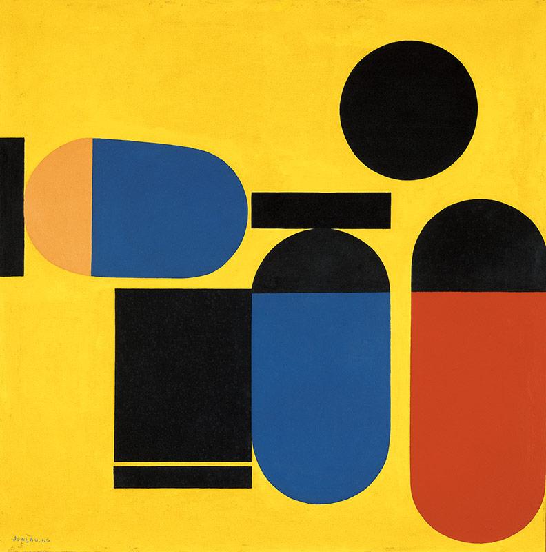 Rond noir, 1960