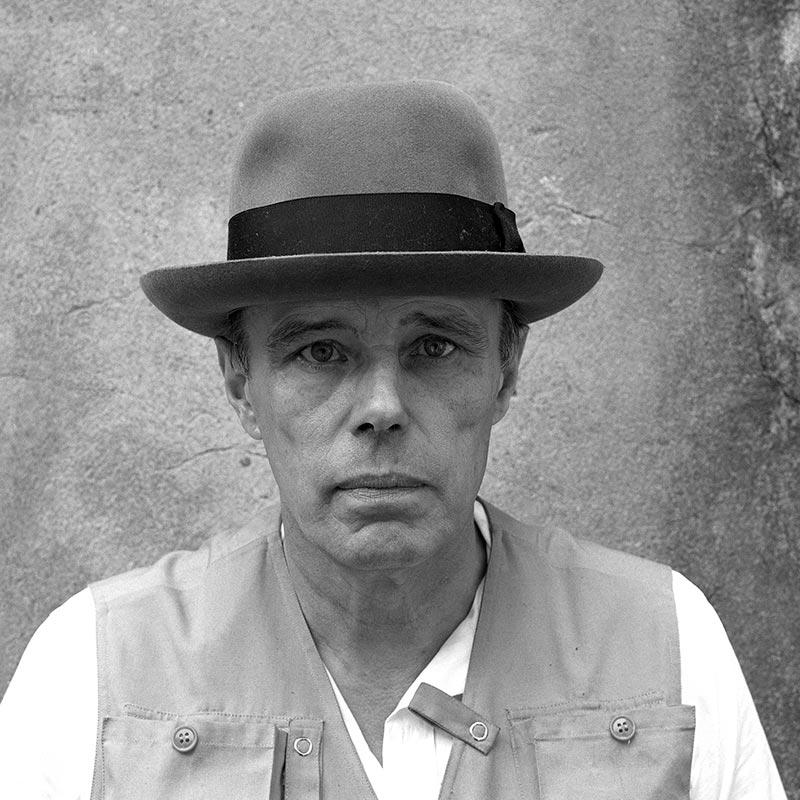 Joseph Beuys, 100 Frontal Views (detail), 1980