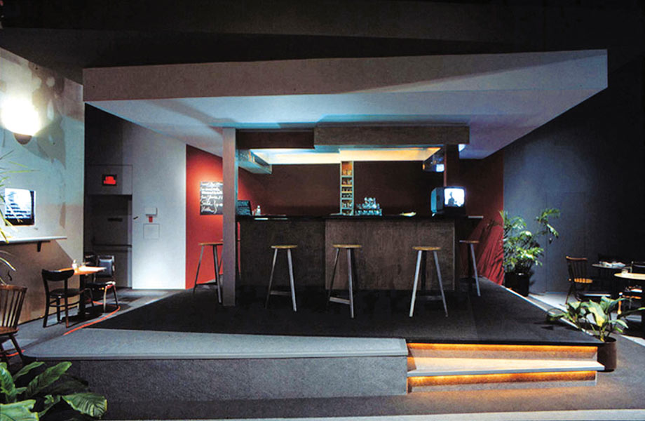 Transit Bar (partial view from entrance), 1996, National Gallery of Canada, Photo: Charles Hupé