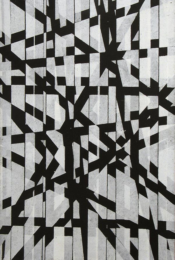 Sellotape Painting #5, c. 1963
