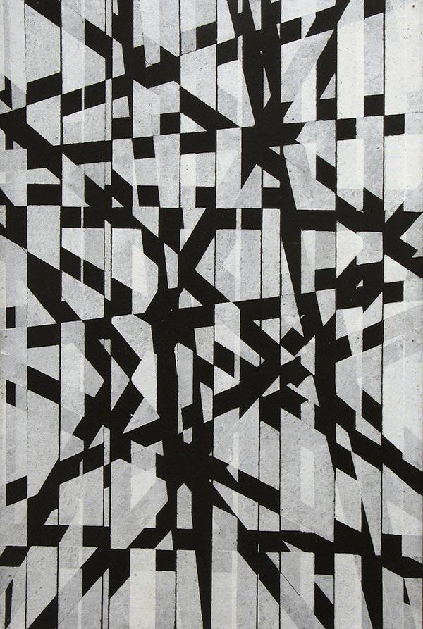 Sellotape Painting #5, c. 1963