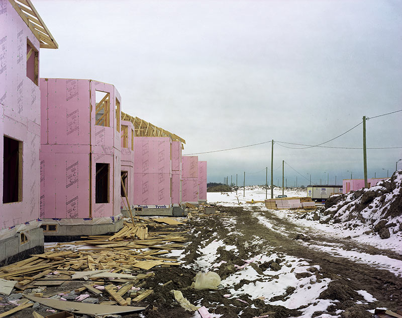 New housing north of Major Mackenzie Drive, Vaughn Twp, 1999