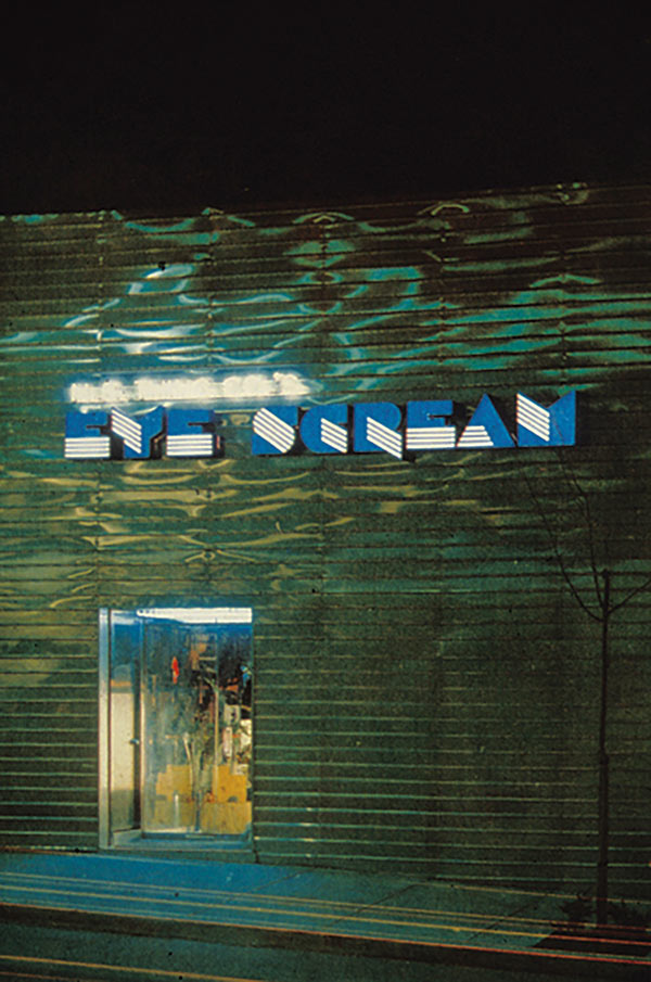 EYESCREAM Restaurant, 1976–78