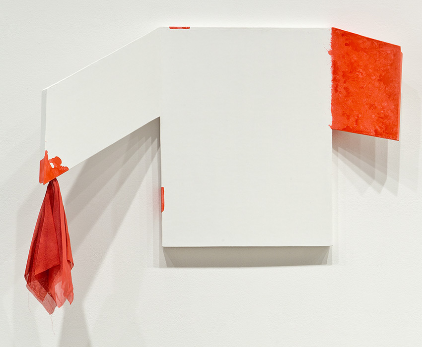 The Fold Heads, No. 2, Gotta Go (red bloody nose), 2009