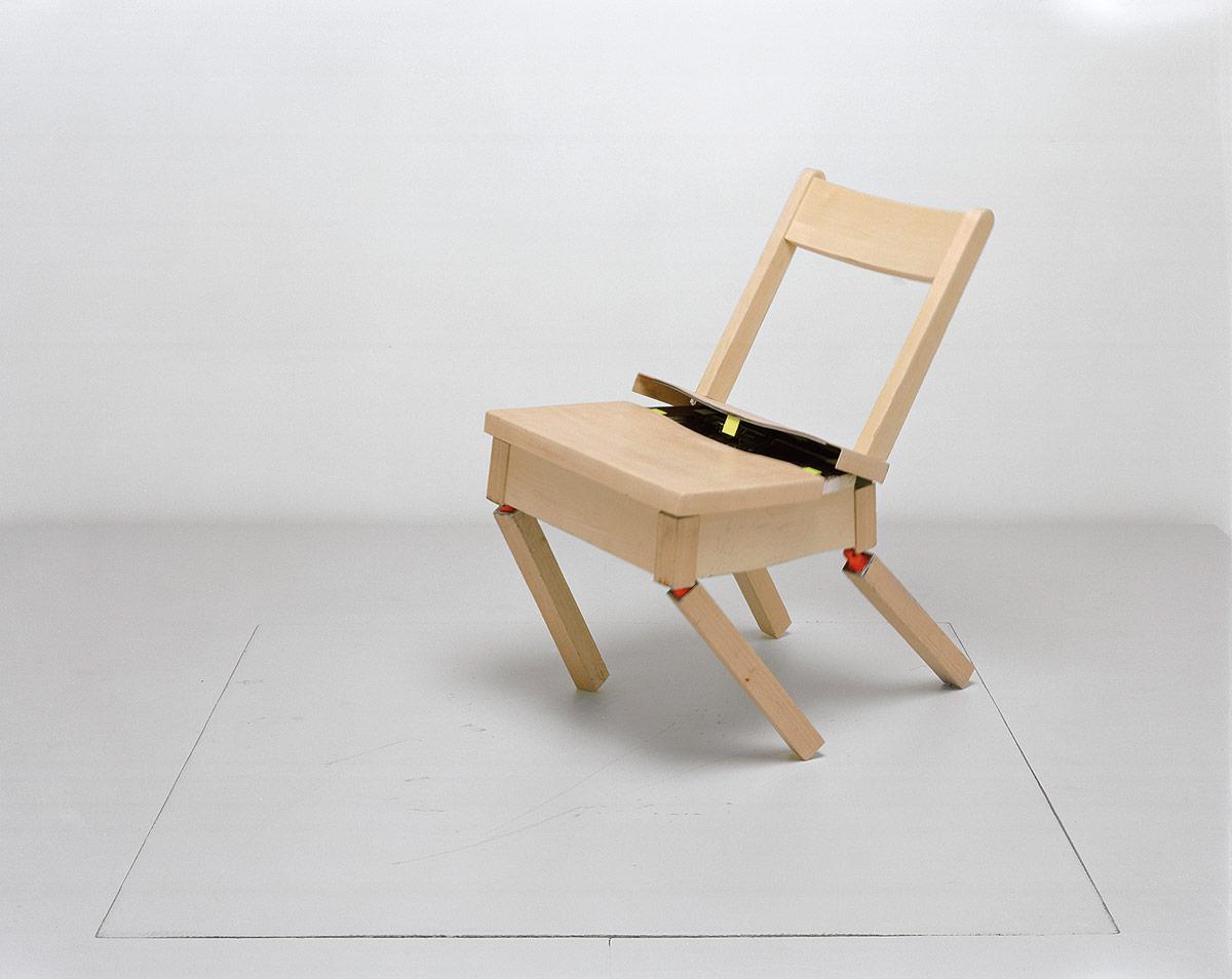 The Robotic Chair, 1985-2006 with Raffaella D'Andrea and Matt Donovan