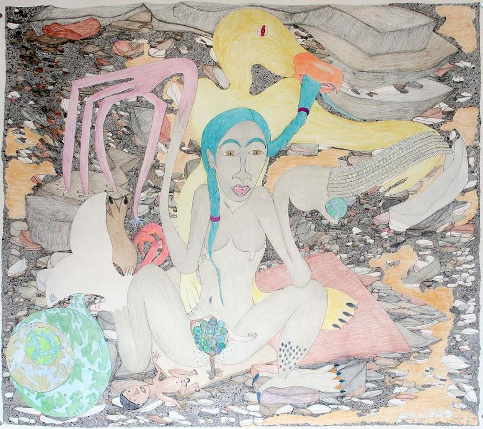 Untitled (Birthing Scene), 2013