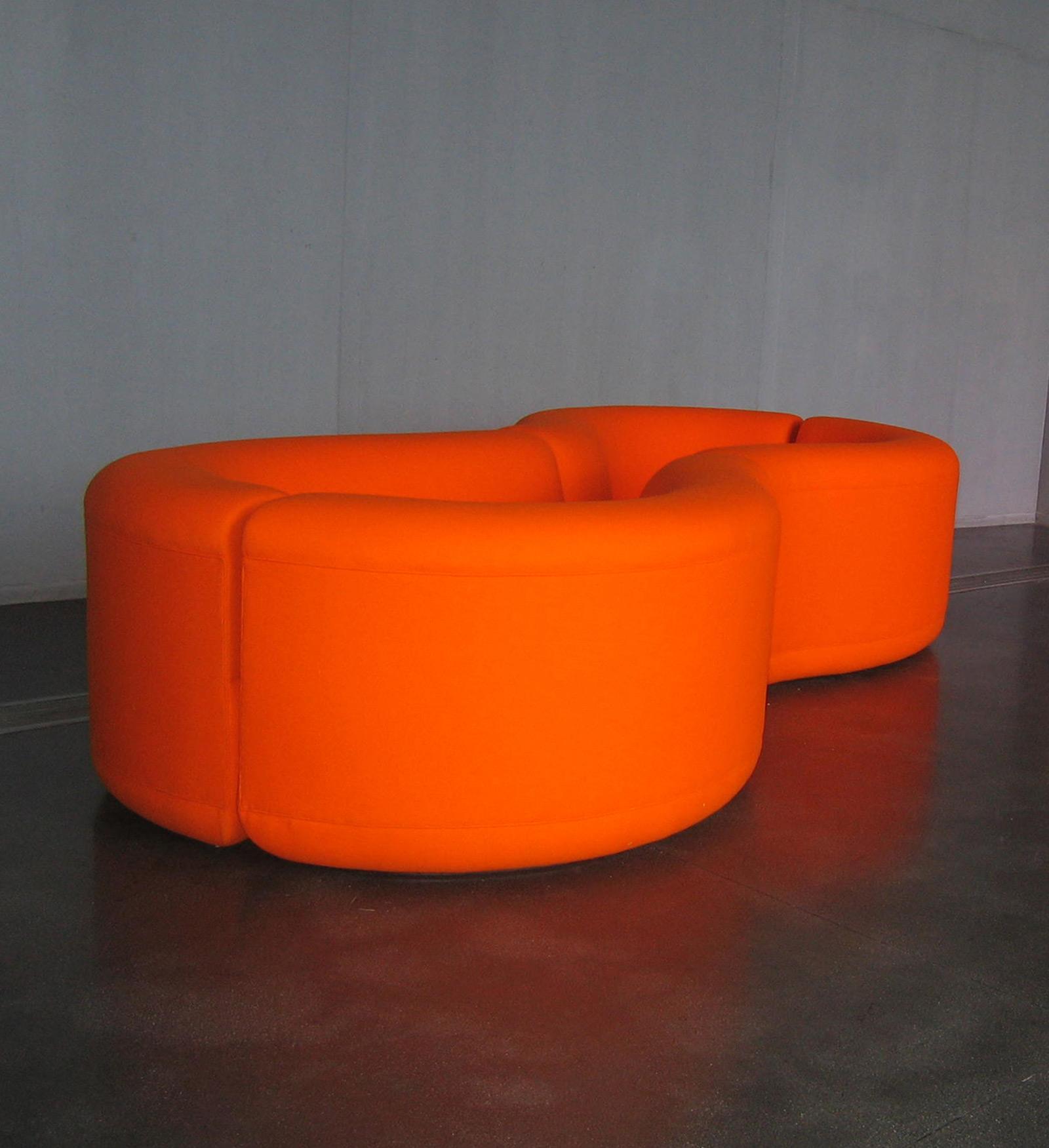 Untitled Furniture Sculpture (Orange Figure 8), 1998